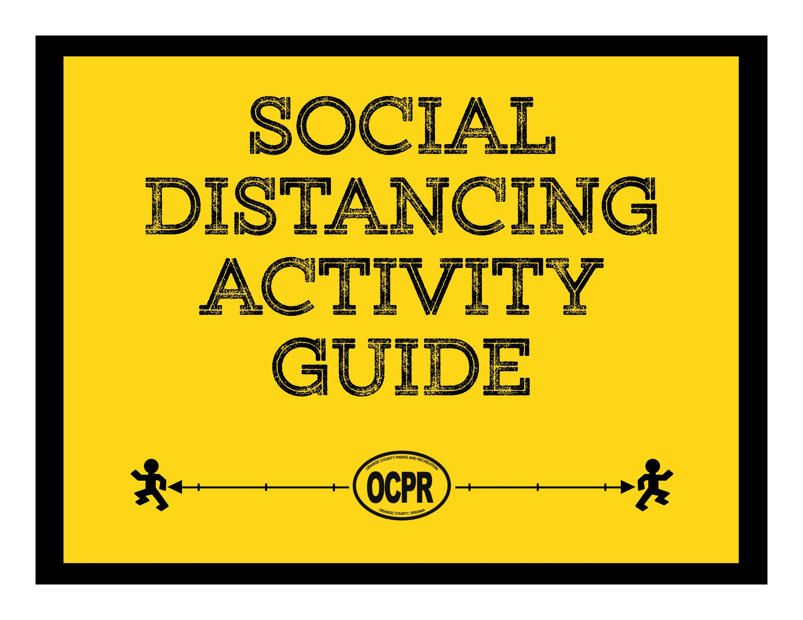 Social Distancing Activity Guide