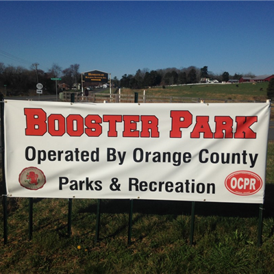 Booster Park Sign
