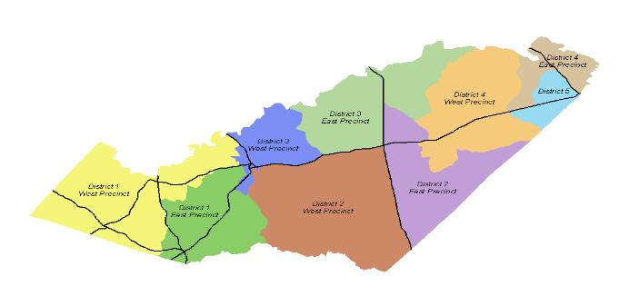 Map Orange County Orange County, VA   Official Website   District Map Map Orange County